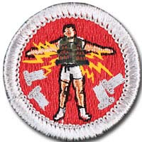 Sacristan merit badge