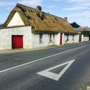 Harty's Cottage - a constant painful reminder of our peasant roots.